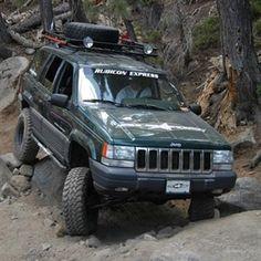 Kuvahaun tulos haulle jeep zj roof rack