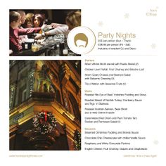 Party Dinners at Hard Days Night Hotel