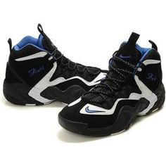 http://www.asneakers4u.com/ Penny Hardaway Shoes   Nike Air GO LWP Black/White/Blue
