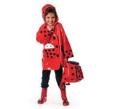Kidorable Ladybug Raincoat at #welliesandworms  £23.95