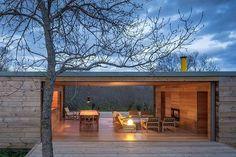 【開放的過ぎ】広大なテラスのあるリビング・ダイニング | 住宅デザイン