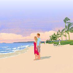 #beach #sea #illustration #illustrator #tatsurokiuchi #art #drawing #life #lifestyle #happy #japan #people #girl #木内達朗 #イラスト #イラストレーション