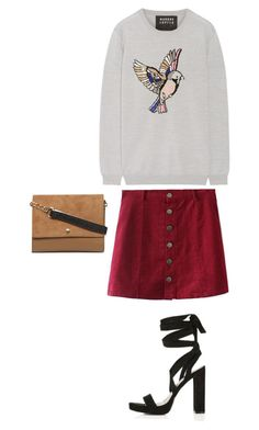 """""""Untitled #626"""" by sarahtwohig ❤ liked on Polyvore featuring Markus Lupfer, Topshop and Dorothy Perkins"""