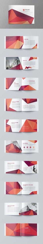 Minimal Business Brochure Template PSD