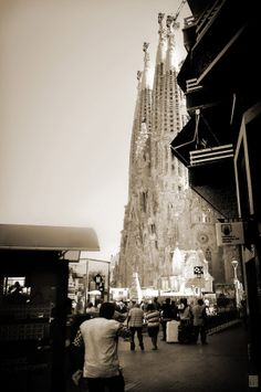 Sagrada Familia - Поклон Гауди. Фотография-ZНЯТА