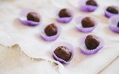 decadent protein chocolate truffles