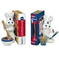 Pillsbury Doughboy™ Bookends - The Danbury Mint