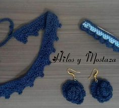Gargantilla sencilla en crochet Crochet Earrings, Jewelry, Chokers, Tejidos, Accessories, Jewlery, Bijoux, Jewerly, Jewelery