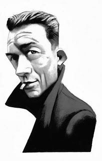 Albert Camus Portraits - Caricatures by Fernando Vicente, via Behance Albert Camus, Spanish Artists, French Artists, Portraits, Portrait Art, Writer Memes, Caricature From Photo, Celebrity Caricatures, Classic Literature