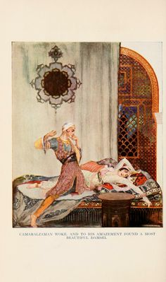 More tales from the Arabian nights, illustrations by Willy Pogany