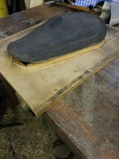 Using seat base and foam as part of mould