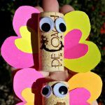 Wine Cork Butterfly Craft For Kids