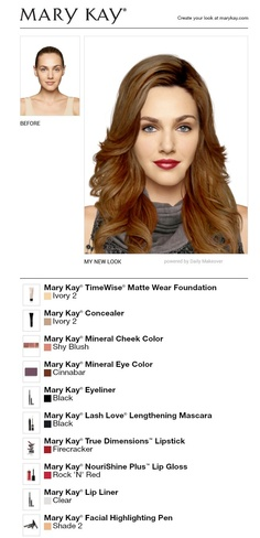 I Just Made Massie Block Using Mary Kay Free Makeover App!