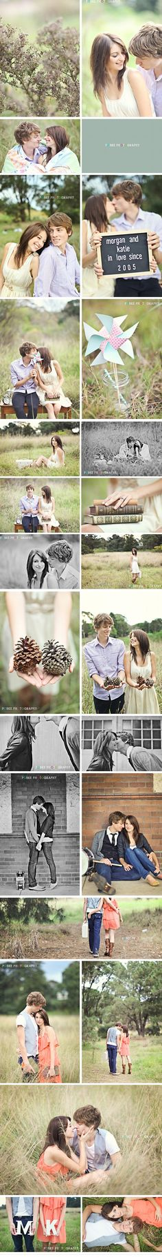 """Wonderful """"Save The Date"""" session from POBKE Photography (http://www.pobkephotography.com) via Beyond Beyond"""