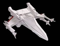 ... London, who made these awesome origami pieces modeled after Star Wars
