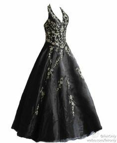 Black Halter Floor Length Formal Evening Dress Prom Gown Size:6,8,10,12,14,16
