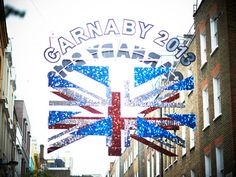 From London With Love: Carnaby Street banner