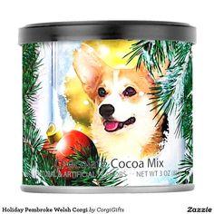 Holiday Pembroke Welsh Corgi Hot Chocolate Drink Mix