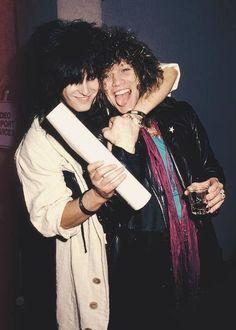 Nikki Sixx & Bon Jovi