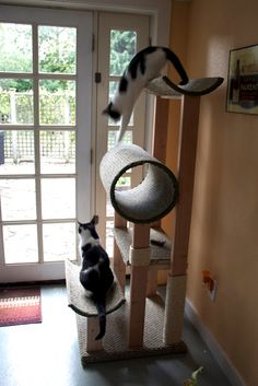 How To Make A Cat Condo For Your Fuzzy Feline.
