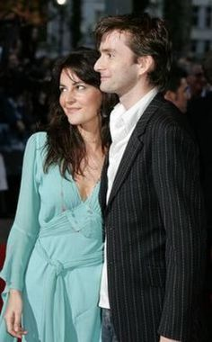 2005 - David Tennant escorts friend, Louise Delamere to the premiere of 'Kingdom of Heaven' at the Empire, Leicester Sq, London