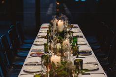 Ben + Andrea's Wedding | Photographer Abigail Varney | Table Arrangements | North St Botanical