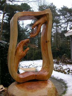 Chainsaw art.