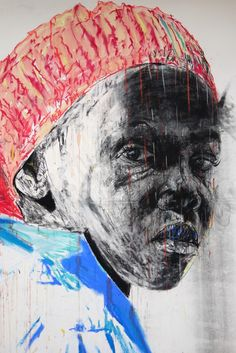 From Gallery of African Art (GAFRA), Nelson Makamo, Dark Comprehension Acrylic, pastels and charcoal on paper, 160 × 120 cm Africa Drawing, Artist Inspiration, Painting, Art, African Art, Artsy, Contemporary Art, Painting Collage, Love Art