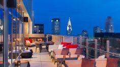 Bar 54 - Hyatt Times Square Rooftop Bar NYC - http://bestrooftopbarsnyc.com/2016/03/05/bar-54-hyatt-times-square-rooftop-bar-nyc/