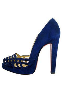 Zapatos, los Zapatos de Patricia - El Blog de Patricia : Christian Louboutin, su suela roja, su demanda a YSL y sus zapatos para Otoño 2011.