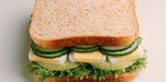 Sandwich crudités et œufs durs