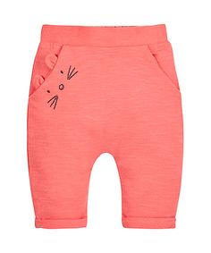 Coral Mouse Joggers