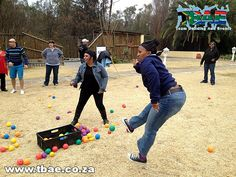 Standard Bank Tribal Survivor Team Building Lanseria