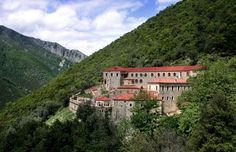 Faneromenis Monastery Greece, Mountains, Mansions, House Styles, Nature, Travel, Home Decor, Greece Country, Naturaleza