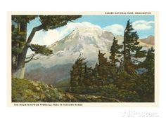 Mt. Rainier, Washington Posters at AllPosters.com