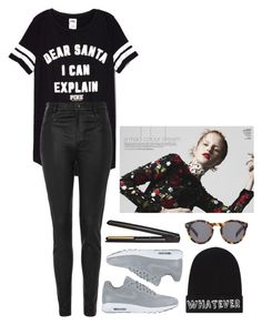 """Без названия #918"" by asmin ❤ liked on Polyvore featuring Mode, Topshop, NIKE, GHD, Local Heroes und Illesteva"