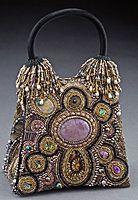 Beaded bag by Sherry Serafini