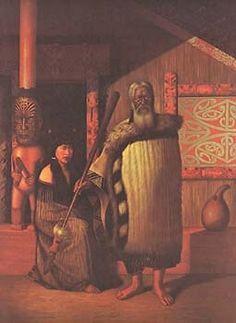 Harawira Mahakai by Gottfried Lindauer for Sale - New Zealand Art Prints Polynesian People, Polynesian Culture, Once Were Warriors, Maori Tribe, Maori People, Large Art Prints, New Zealand Art, Maori Art, Chur