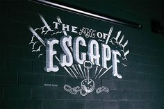 Jailbreak Brewing Co. - The Art of Escape by Chris Yoon handlettering hand lettering type typography graphic design illustration streetart