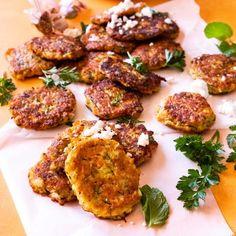 Quick and Easy Pumpkin and Zucchini Fritters Recipe Paleo Pumpkin Recipes, Vegan Pumpkin, Vegetable Recipes, Vegetarian Recipes, Healthy Recipes, Pumpkin Recipes For Toddlers, Pumpkin Dinner Recipes, Pumpkin Foods, Healthy Mummy