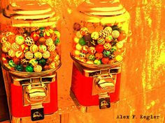 Alex photograph project: Candy balls...
