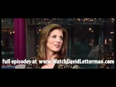 Caroline Kennedy in Late Show with David Letterman October 6, 2011 - YouTube
