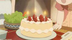 Aesthetic Japan, Aesthetic Gif, Aesthetic Food, Main Manga, Anime Bento, Anime Cake, Casa Anime, Anime Gifs, Food Cartoon
