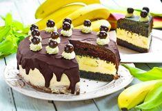 Dort s banány a vanilkovou náplní Honey Cupcakes, Cream Cheese Cupcakes, I Love Chocolate, Choco Chocolate, Chocolate Pictures, Chocolate Heaven, Photo Print, Food Crush, Foods To Eat