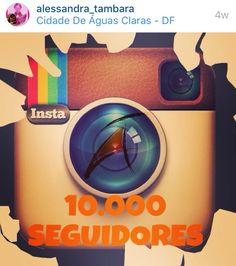@alessandra_tambara Hoje já são mais de 13 mil seguidores no Instagram. Junte-se a nós!