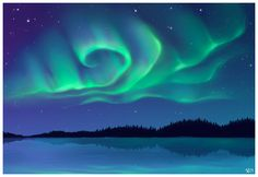 Aurora Borealis by Boarzx.deviantart.com on @DeviantArt