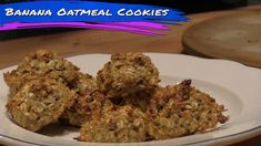 Buff Dudes - Protein Banana Oatmeal Cookies Recipe Oatmeal Protein Cookies, Oatmeal Cookie Recipes, Gluten Free Desserts, Healthy Desserts, Healthy Recipes, Healthy Foods, Yummy Oatmeal, Healthy Choices, Blog