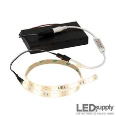 Battery-Operated LED Light Strip