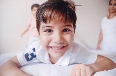 """Bom dia com essa cara de """"hoje é sábado"""" do Dudu sob as lentes da linda @barbaramondes #babydicas"""