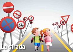 Educazione stradale per i bambini delle scuole della provincia di  Campobasso